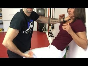 How to ESCAPE FROM A CHOKE – WOMENS SELF DEFENSE