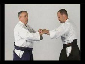 Aikido Nikyo Wrist Lock Defenses : Aikido Single Wrist Grab Self Defense