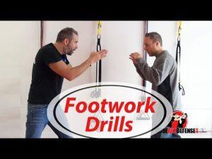 Self Defense Footwork Drills