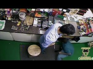 Clerk Has Tools But No Attitude Against Robber | Active Self Protection