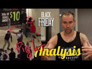 Fight Analysis – BLACK FRIDAY SELF DEFENSE TIPS!