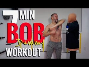 7 Minute BOB DUMMY WORK OUT! Self Defense TRAINING