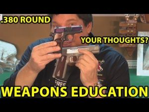 .380 Round -Good For Self Defense-Your Thoughts ? WeaponsEducation