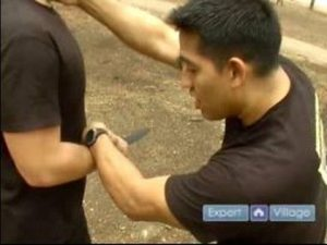 Krav Maga Self Defense Techniques : Forward Stab Defense Move for Krav Maga