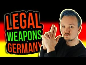 What WEAPONS Are LEGAL For Self-Defense In Germany As A Citizen And Tourist 🔫 Get Germanized