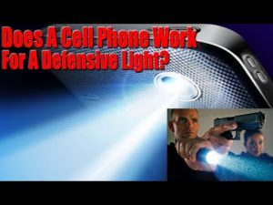 Can You Use Your Cell Phone For A Self Defense Mild?
