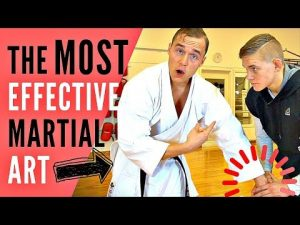 THE MOST EFFECTIVE MARTIAL ART FOR SELF-DEFENSE — Jesse Enkamp