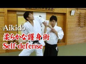 合気道 – 柔らかな護身術 Aikido self-defense techniques