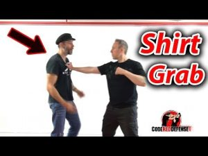 How to Defend against a Shirt Grab – Self Defense