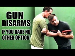 Jiu-Jitsu Self-Defense | Gun Disarms If You Have No Other Options