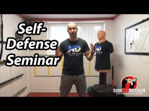 Upcoming Self Defense Seminar