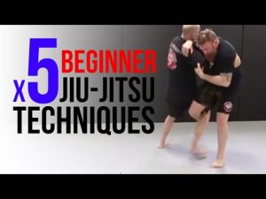 x5 Beginner Jiu-Jitsu Techniques for Self-Defense
