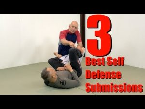 The 3 Most Important Submissions for Self Defense