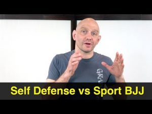 Sport vs Self Defense BJJ, Is There Really a Distinction?