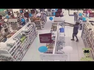 Robber Loses Game of Hide and Seek to Prepared Defender | Active Self Protection