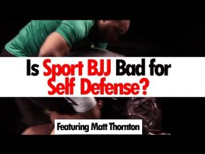 Is Sport BJJ Bad for Self Protection? • Ft. Matt Thornton