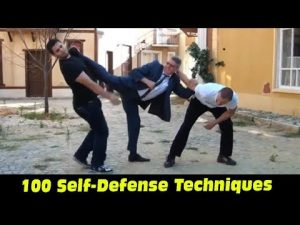 100 Self-Defense Techniques – Real Aikido