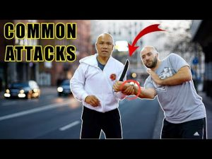 Self defense technique against common attacks