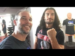 Live with UFC Fighter Elias Theodorou MMA and Self Defense