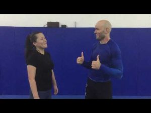 MMA Fighters try Women's Self Protection: episode 8 (that includes an actual lady!)