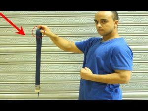 دافع عن نفسك بإستخدام الحزام  | طريقة سهلة وتحميك في الشارع Self Defense By Using a Belt
