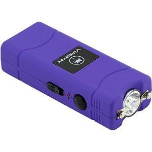 VIPERTEK VTS-881 – 35 Billion Micro Stun Gun – Rechargeable with LED Flashlight, Purple