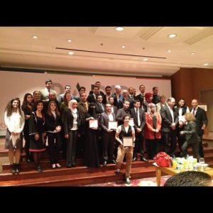 Final ceremony for #badir initiative @farah_qudsi best individual…