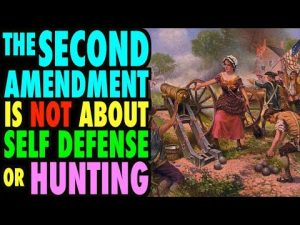 The 2nd Amendment is NOT about Hunting or Self Defense (Rant)