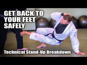 The Technical Stand-Up Proper Application | Jiu-Jitsu Self-Defense Basics