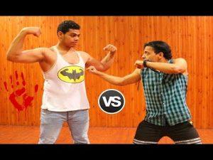 كيف تقاتل أصحاب العضلات | تجربة واقعية مع لاعب كمال الأجسام Self defense against a bodybuilder