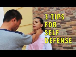 3 Tips For Self Defense