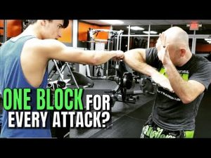 Layered Defense for Self Defense or Bare Knuckle Boxing | I Can Block Any Attack