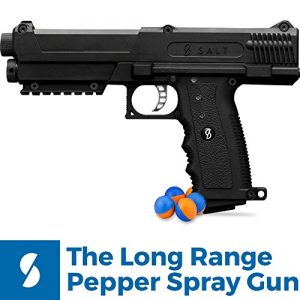 Salt Supply Pepper Spray Gun Self Defense Kit