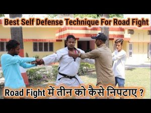 Best Self Defense Technique For Road Fight | In HIndi