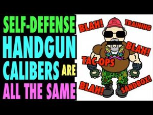 Self-Defense Handgun Calibers ALL Perform the SAME?