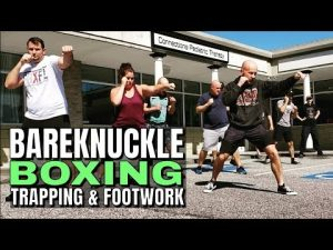 Handtrap Combo and Footwork for Bareknuckle Boxing, MMA or Self Defense | Seminar Footage