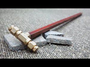 수도배관으로 호신용 지팡이 만들기 / Making a Self Defense Walking Cane