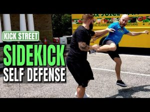 Training Sport Techniques for Self Defense | Sidekicks to the Knee