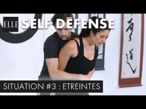 Self-défense : se dégager d'une étreinte