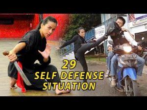 Chintya Candranaya 29 Self Defense  Situation