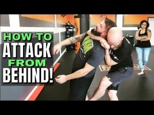Self Defense Secrets: Attack from Behind | How to Sneak Someone | Short Choke Details