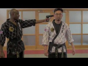 Hapkido Self-defence using Belt, Gun disarming & Bystander techniques