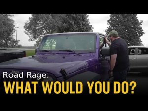 ROAD RAGE Self-Defense Scenario: What Would You Do?