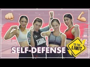 Women Learn Self-Defense for the First Time