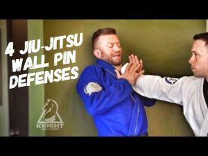 Jiu-Jitsu Self Defense | 4 Ways Off The Wall