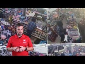 Banana Defense Causes Robber To Split