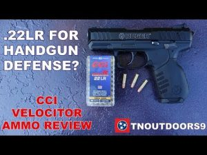 .22LR Handgun for Self-Defense?  CCI Velocitor Review