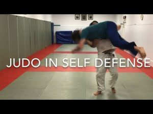 Self-defense using Judo