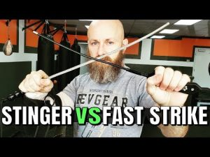 Fast Strike Vs. Stinger Tactical Self Defense Whips