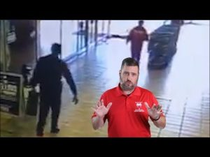 Security Guard Praised After Stopping Robbers